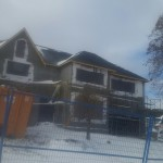 Photo of Exterior renovation in snow