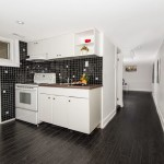 Photo of Basement kitchen