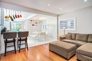 living room home renovation