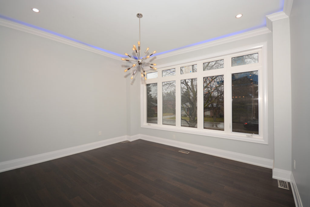 modern home renovation living room