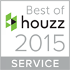 Best Houzz 2015 Logo